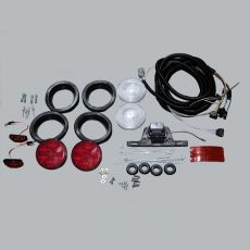 Flush Mount Light Kit With LED S/T/T