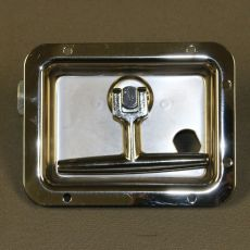 Stainless Steel Twist Latch Curb Side