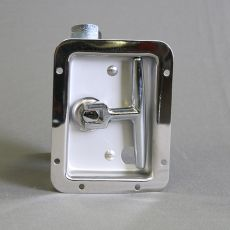 Stainless Steel Twist Latch Street Side Improved Security