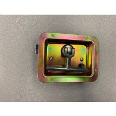 Galvanneal Steel Twist Latch Curb Side