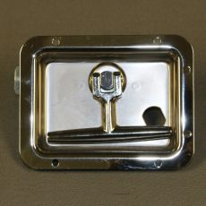 Stainless Steel Twist Latch Curb Side Improved Security