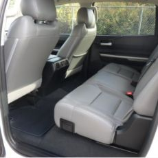 REAR SEAT COVERS FOR TOYOTA TUNDRA TRUCKS