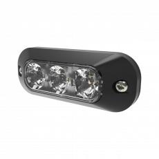 ECCO 3 LED Amber Surface Mount Light