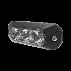 ECCO 3 LED Amber Surface Mount Light