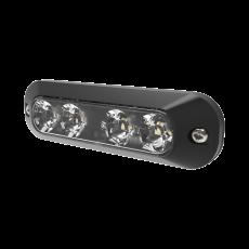 ECCO 4 LED Amber Surface Mount Light