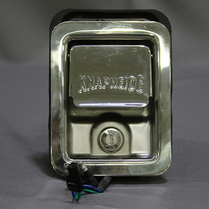 stainless steel rotary latch with power locks